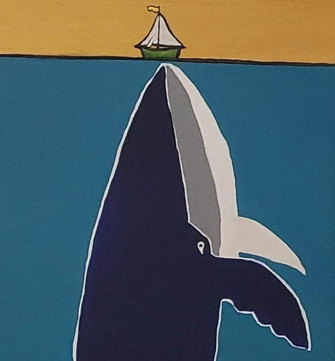 Whale and Boat